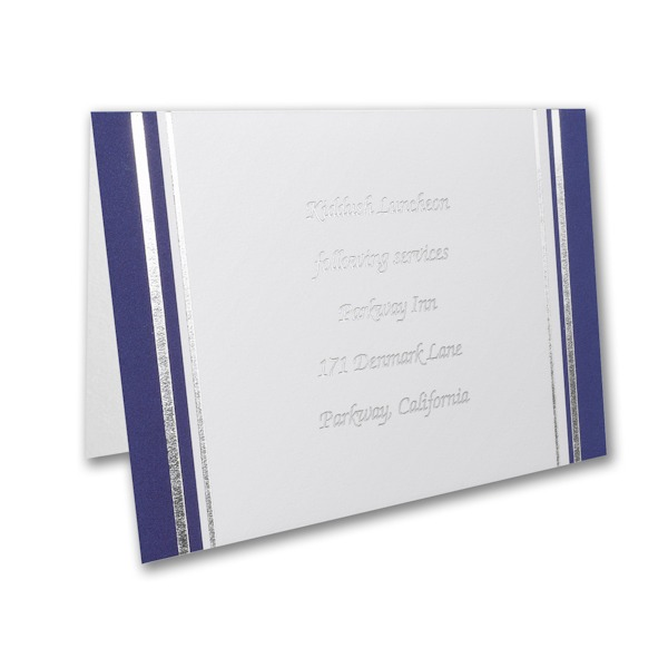 Cherished Torah Reception Card