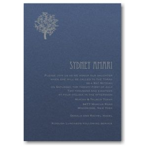 Designer Mitzvah Bar Mitzvah Invitation