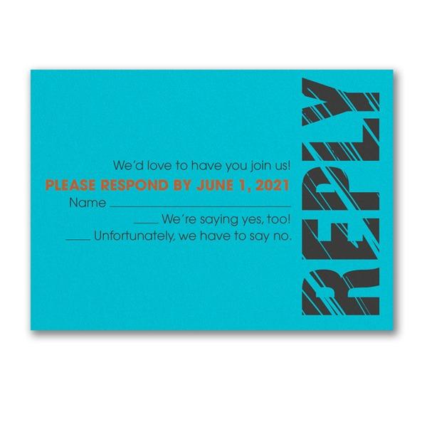 Mitzvah Lines Response Card