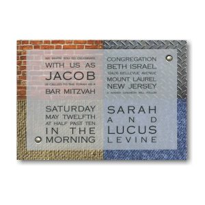 Threshold Bar Mitzvah Invitation