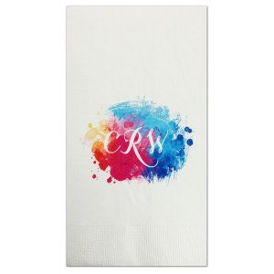 Color Burst Guest Towel