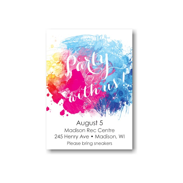 Color Burst Reception Card