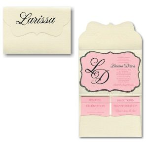 Larissa Pocket Bat Mitzvah Invitation
