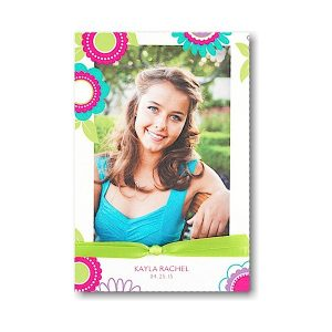 Exuberance Bat Mitzvah Invitation