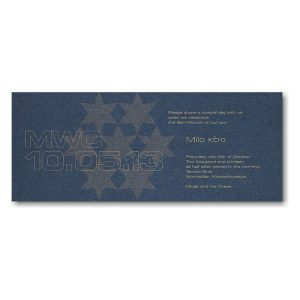 Shine Bar Mitzvah Invitation