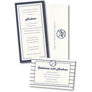 Big League Bar Mitzvah Invitation