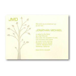 Jonathan Bar Mitzvah Invitation