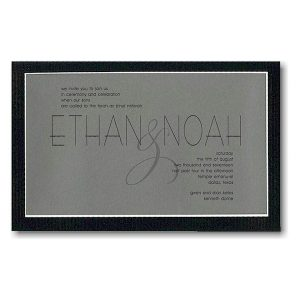 Milestone Bar Mitzvah Invitation