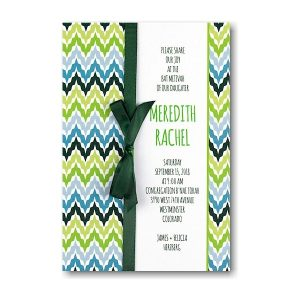 Wavelength Bat Mitzvah Invitation