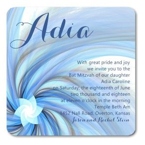 Adia Bat Mitzvah Invitation icon