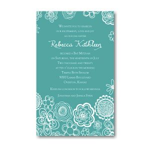 Create Your Own Bat Mitzvah Invitation Suite 70C icon