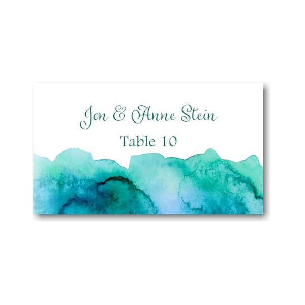 Eliana in Blue Place Card