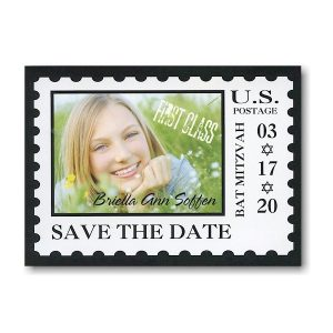 First Class Save the Date Card