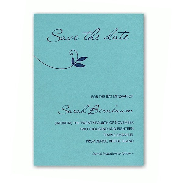 Lush Save the Date Card