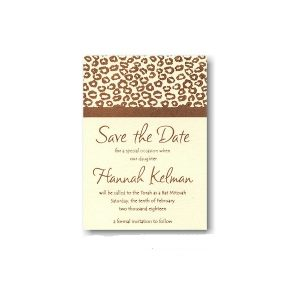 Opulence II Save the Date Card Sample