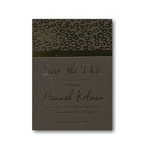 Opulence Save the Date Card
