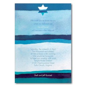 Peace Bar Mitzvah Invitation icon