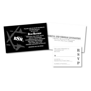 Ryan Matthew A Bar Mitzvah Invitation