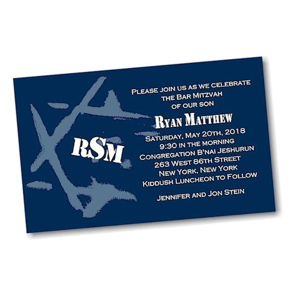 Ryan Matthew D Bar Mitzvah Invitation