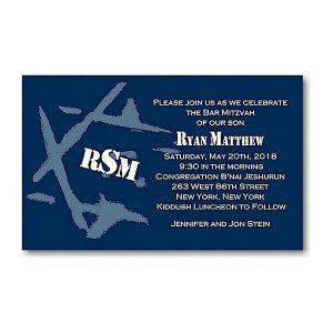 Ryan Matthew D Bar Mitzvah Invitation Sample