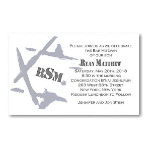 Ryan Matthew I Bar Mitzvah Invitation icon