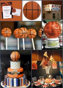 Basketball Bar Mitzvah Party