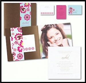 Bliss Photo Bat Mitzvah Invitation