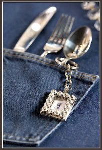 Denim and Silverware