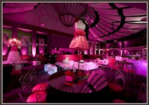 Fashionable Bat Mitzvah Decor