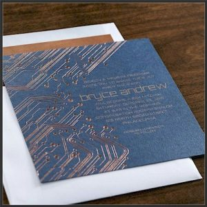 Impulse Bar Mitzvah Invitation