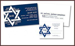 Jacob Scott Bar Mitzvah Invitation