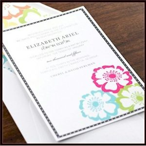Maui Bat Mitzvah Invitation