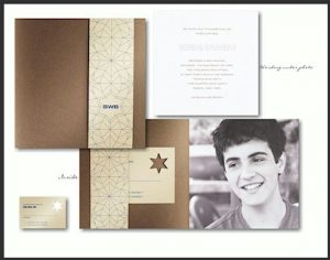 Paragon Bar Mitzvah Invitation