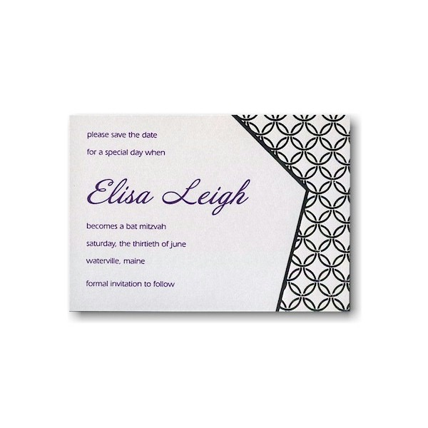 Perfect Harmony Save the Date Card