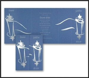 Tallit Sketch Bar Mitzvah Invitation