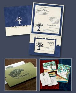 Trio of Bar Mitzvah Invitations
