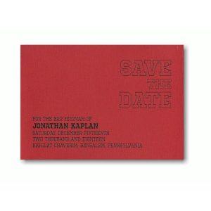 Triumph Save the Date Card