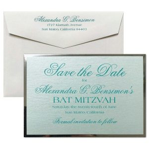 Truly Yours Save the Date Card