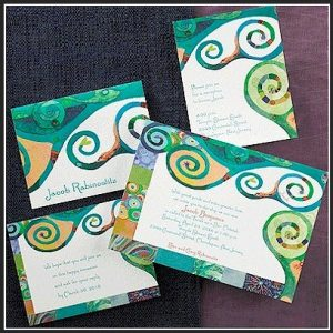 Wonder Bat Mitzvah Invitation