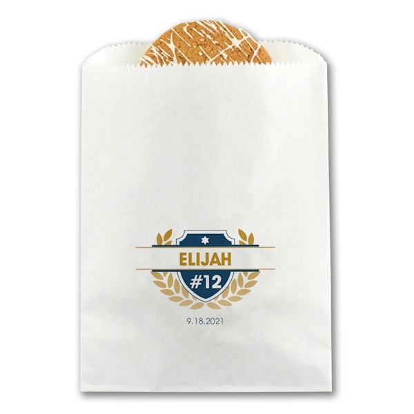 Celebration Crest Treat Bag
