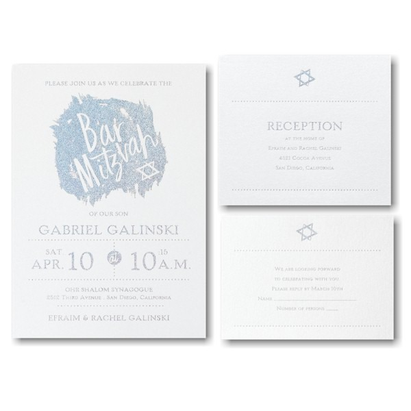 Hip Mitzvah Bar Mitzvah Invitation