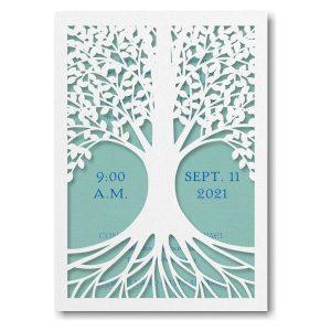 Tree of Life Lagoon Bar Mitzvah Invitation Icon