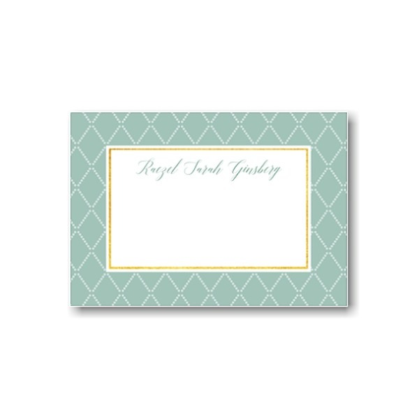 Diamond Flat Note Card