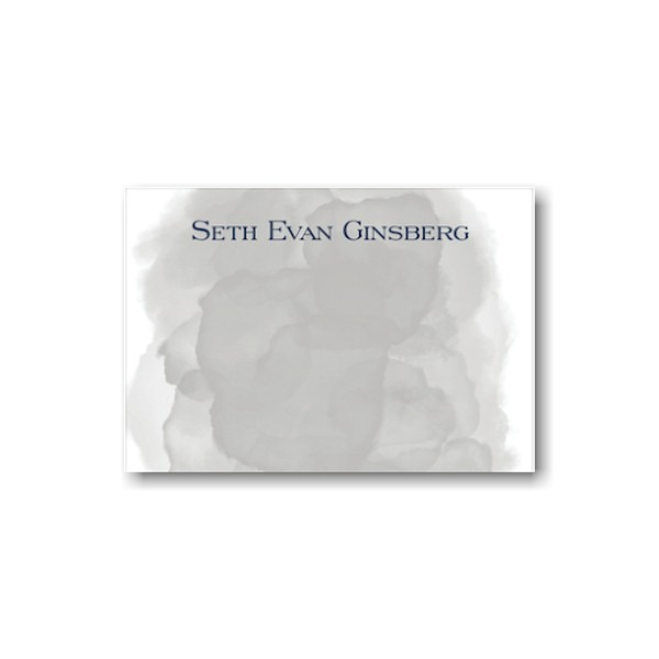 Grey Wash Note Card