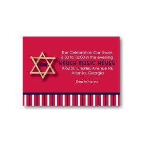 All Star ATL Reception Card