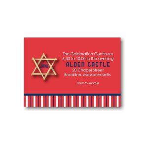 All Star BOS Reception Card
