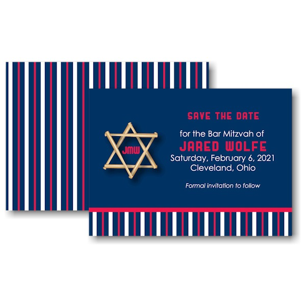 Star CLE Save the Date Card