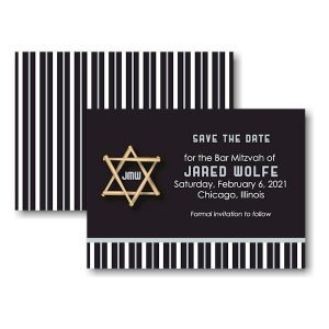 All Star CWS Save the Date Card