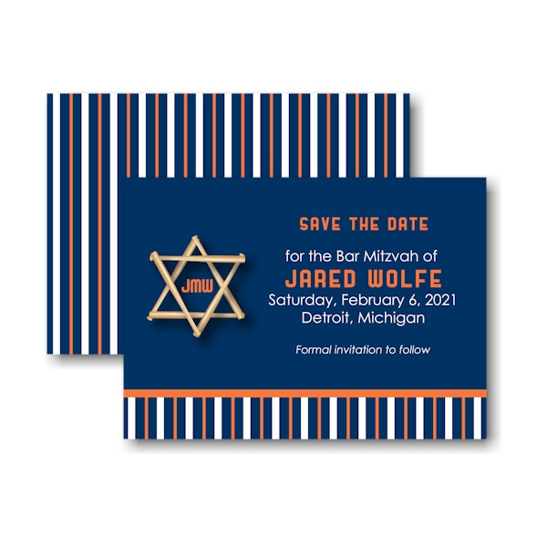 All Star DET Save the Date Card