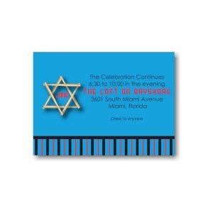 All Star FLA Reception Card